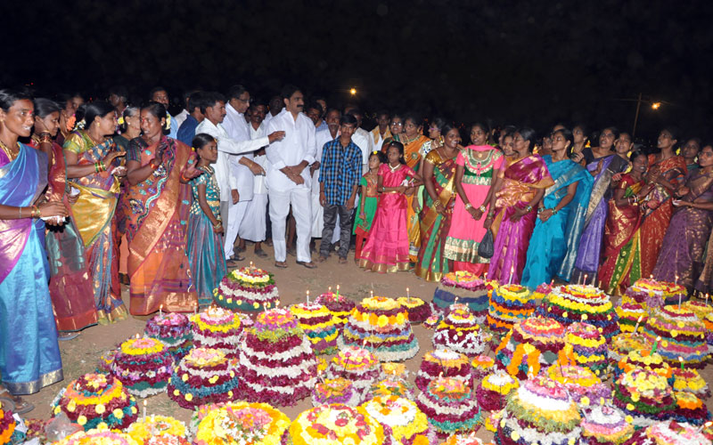 Bathukamma at Veenavanka