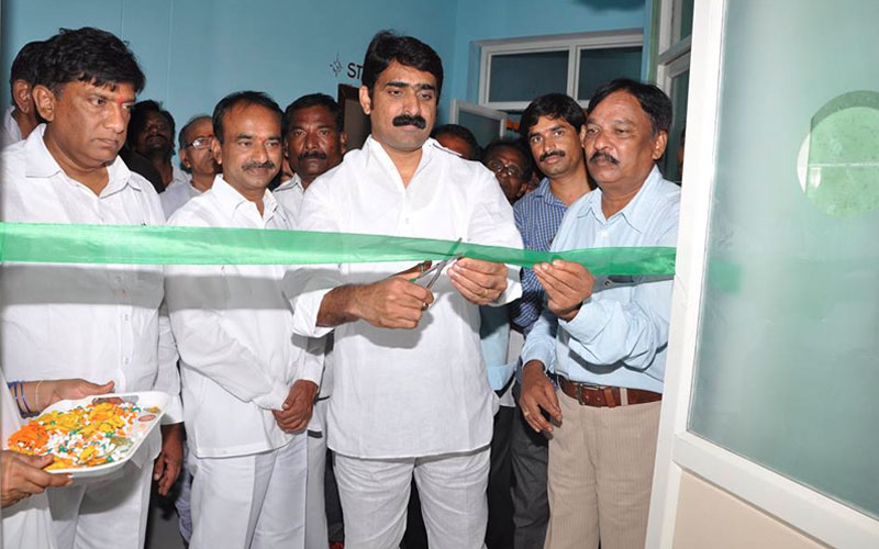 Hospital Inauguration at Veenavanka